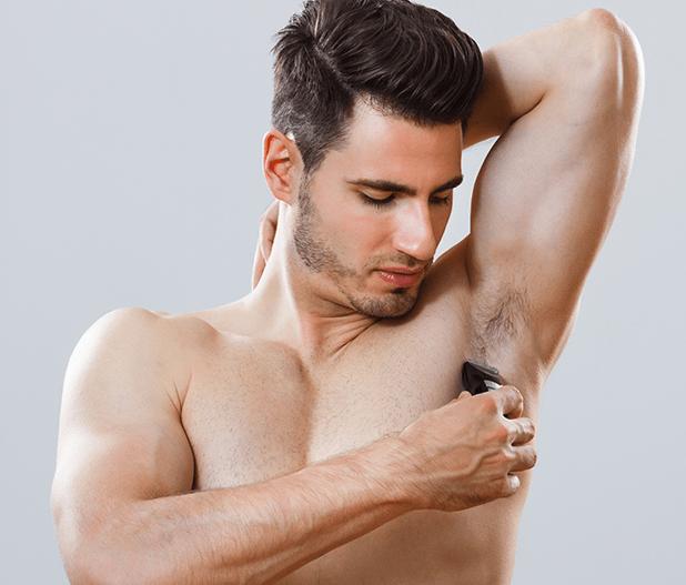 Nam giới có nên cạo lông nách?