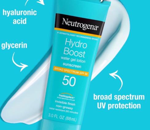Kem Chống Nắng Neutrogena Hydro Boost Water Gel SPF 50